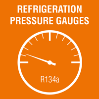 Draw of a refrigeration Pressure Gauges