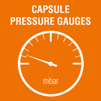 Draw Capsule Pressure Gauges